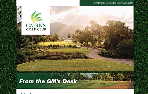 Home - Cairns Golf Club